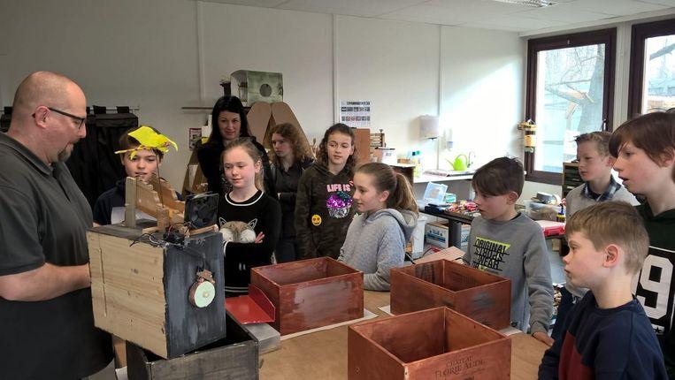 De eerste dag van het Tinkering Lab was alvast een succes voor de leerlingen van Tintelstroom.