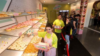 Opening Hill's Donuts groot succes
