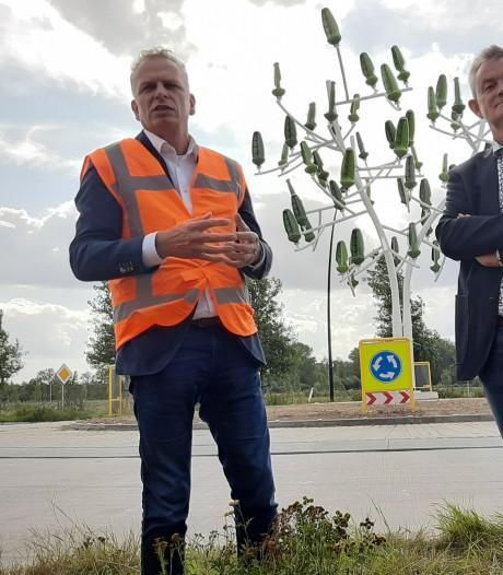 Nu er één windboom in Nederland staat, wil Osse aannemer Ploegam er vele laten volgen