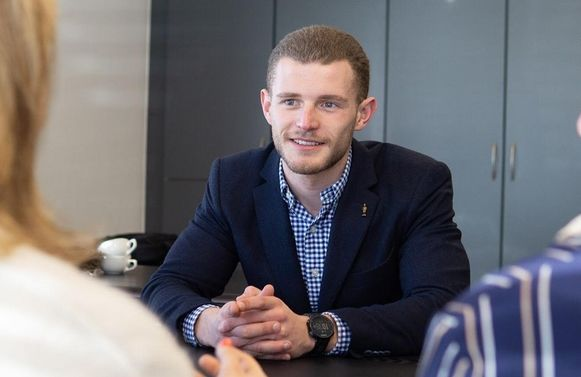 Brent Luyckx, ex-wielrenner en nu eigenaar van 4Gold
