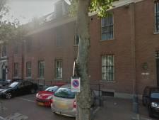 Onderhoud aan justitiekolos centrum Den Bosch buiten, hotel binnen