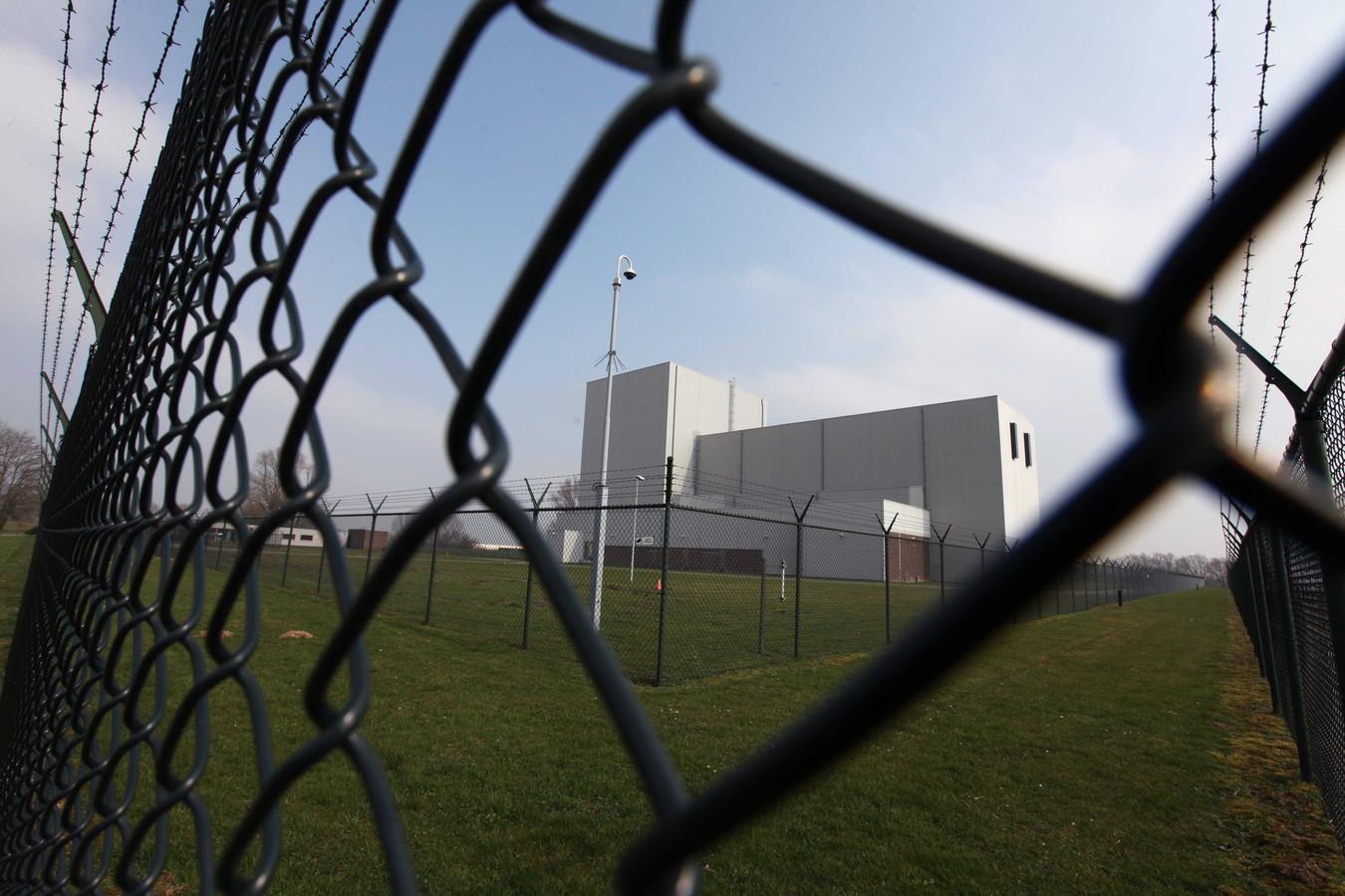 De stilgelegde kerncentrale van Dodewaard.