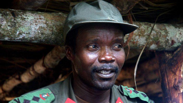 Jospeh Kony in 2006. Beeld null