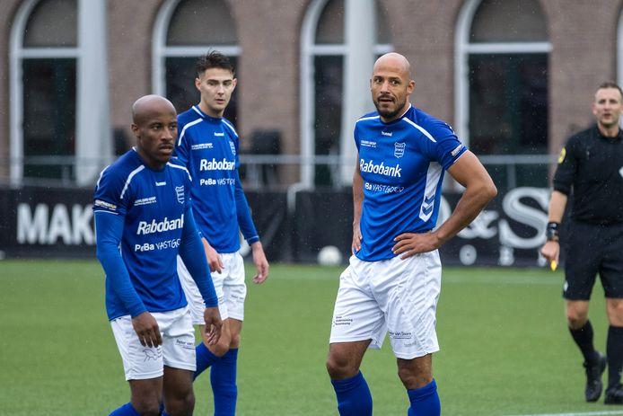 03-10-2020: Voetbal: Jong Sparta Rotterdam v GVVV: Rotterdam Tweede divisie seizoen 2020-2021 R Berry Powel of GVVV,