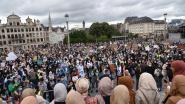 1.200 betogers tegen hoofddoekenverbod in Brusselse hogeschool