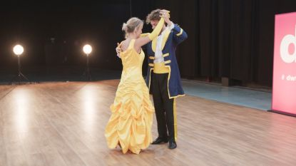 Kat Kerkhofs zorgt voor Disney-magie en danst op 'Beauty and the Beast'