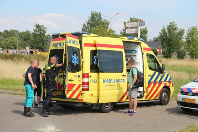 Ongeluk Koudekerkseweg Middelburg.