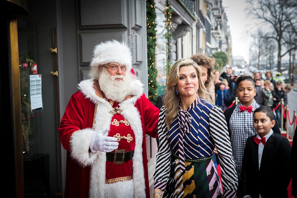 Королевские семьи на Рождество