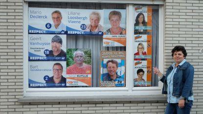 1 raam, 10 affiches, 4 partijen