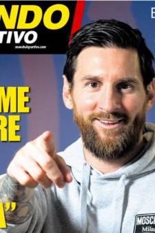 """L'interview vérité de Lionel Messi: """"Je ne pense pas à quitter le Barça"""""""