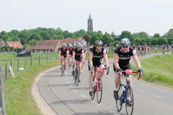 De Classico Giro Utrecht van 2010. Het evenement staat dit jaar voor het eerst helemaal op eigen benen.