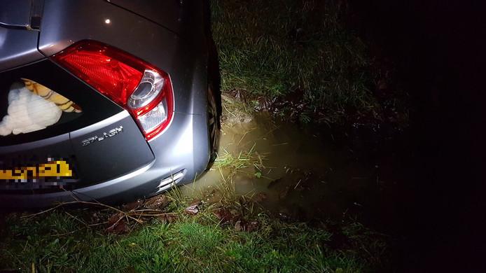 De te water geraakte Suzuki Splash.