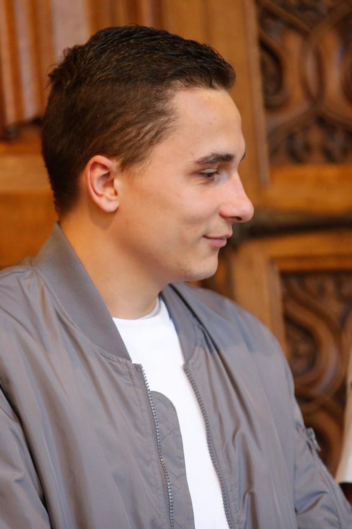 Alexandre Hart devant la cour d'assises de Liège, fin avril