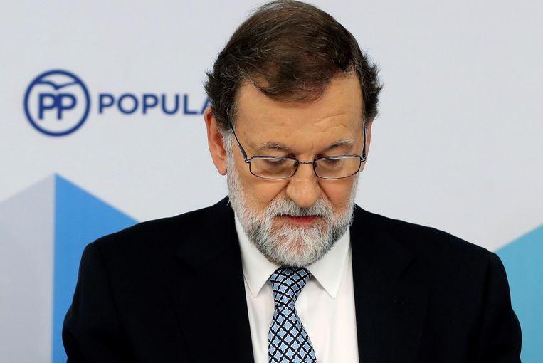 Mariano Rajoy stopt nu ook als partijleider van de PP.
