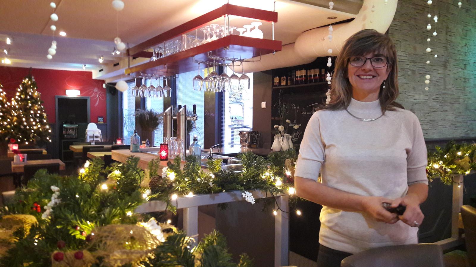 """Tulla van Tilborg is blij met de transformatie van café-restaurant Tumi's  naar Dok 13. ,,Hier ligt mijn hart."""""""