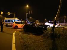 Automobilist raakt van de weg op N261 bij Kaatsheuvel