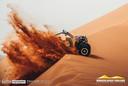 Aan zandduinen geen gebrek in de Morocco Desert Challenge.