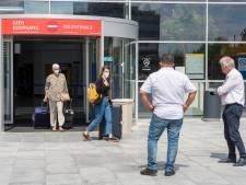 Nog drie met corona besmette reizigers aangekomen op Eindhoven Airport