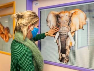 """Karen Damen stelt jungle in Antwerps kinderziekenhuis voor: """"Het helpt de kinderen bij het genezingsproces"""""""