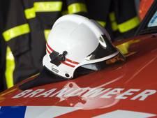 Oefening brandweer mondt uit in echte hulpverlening