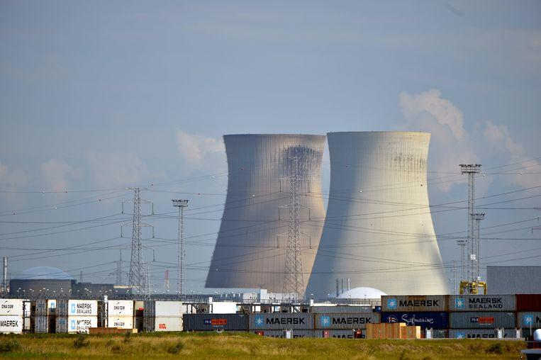 Archieffoto. De kerncentrales van Doel.
