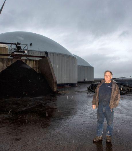 Groengasbooster pompt biogas van boer uit Zeewolde door het land