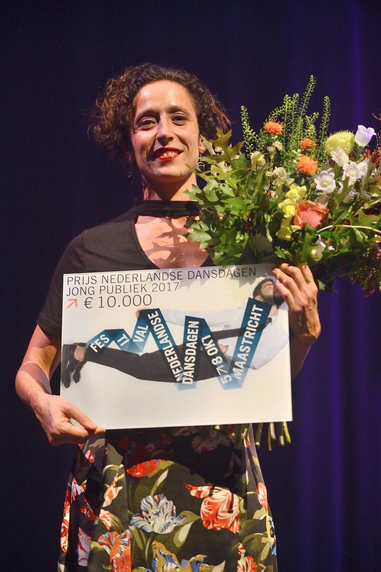 Gaia Gonnelli. Beeld Jochem Jurgens