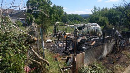 Vegetatiebrand zorgt voor asbestverontreiniging