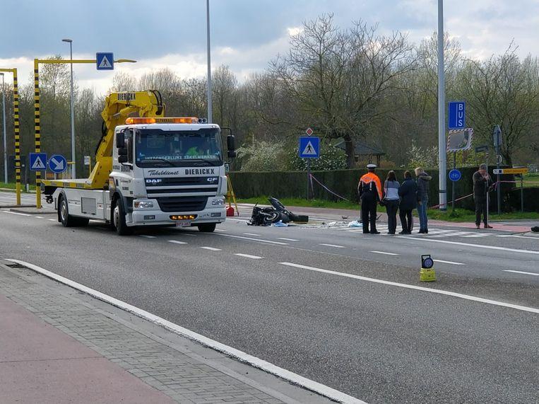 De 37-jarige F. B. liet het leven na een ongeval op de Haachtsesteenweg in Kampenhout.