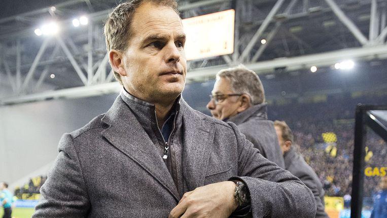 Ajax-coach Frank de Boer na de 1-0-nederlaag tegen Vitesse Beeld Guus Dubbelman / de Volkskrant