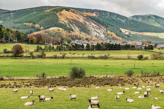 Peebles, dans les Scottish Borders.