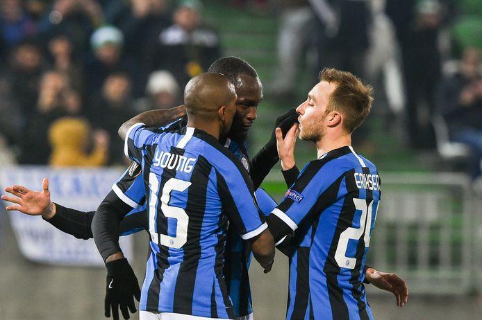 Romelu Lukaku est sorti du banc pour libérer l'Inter à Ludogorets.