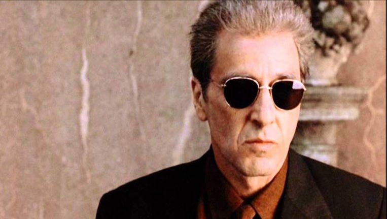 Al Pacino in The Godfather III. Beeld null