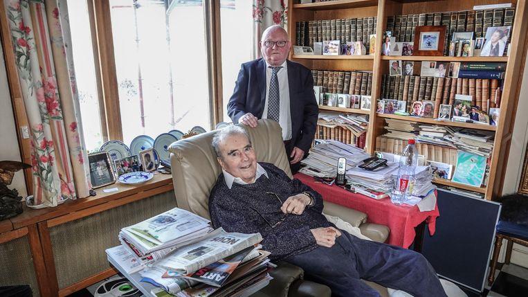 Poperinge Graaf Henri d'Udekem d'Acoz en zijn advocaat Herman Baron