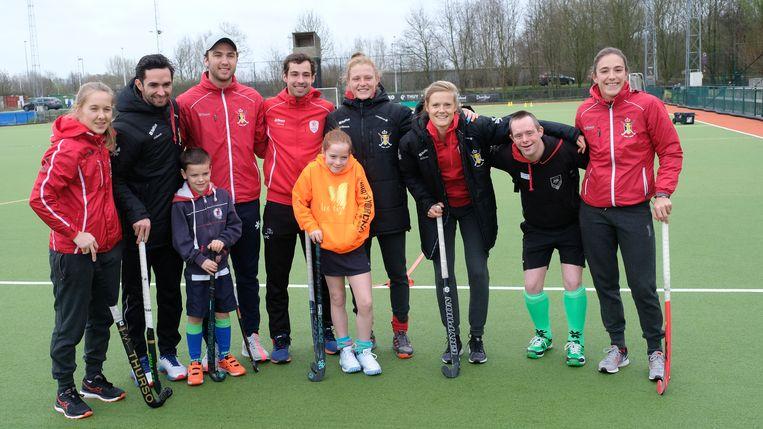 Red Lions met enkele spelers