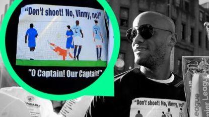 Man City maakt t-shirt van epische goal Kompany