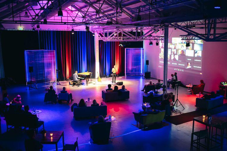 Popup Podium in de Hallen. Beeld David Stegenga Fotografie