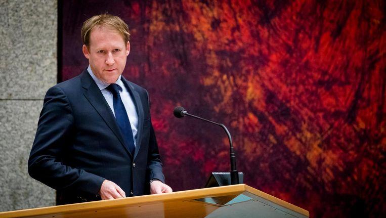 Kees Verhoeven van D66, een van de Kamerleden die vindt dat het tijd is voor maatregelen. Beeld anp