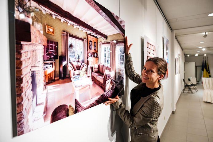 Vernissage van de tentoonstelling van fotografe Evy Raes.