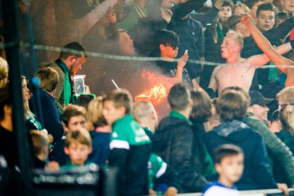 Relletjes en vuurwerk ontsieren Brugse derby: burgemeester De fauw wil grondig onderzoek