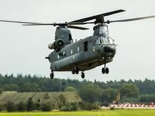 VIDEO: Oirschot is herrie militaire helikopters zat
