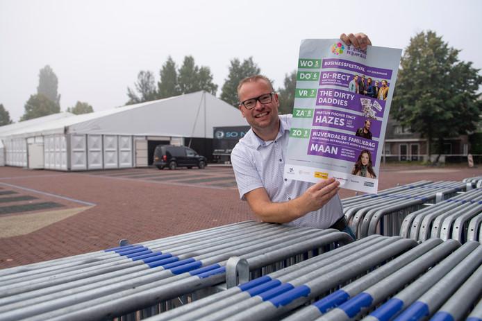 SEN-voorzitter Ewald Aaltink kijkt meer dan tevreden terug op deze editie van Bruisend Nijverdal met een nieuw bezoekersrecord.