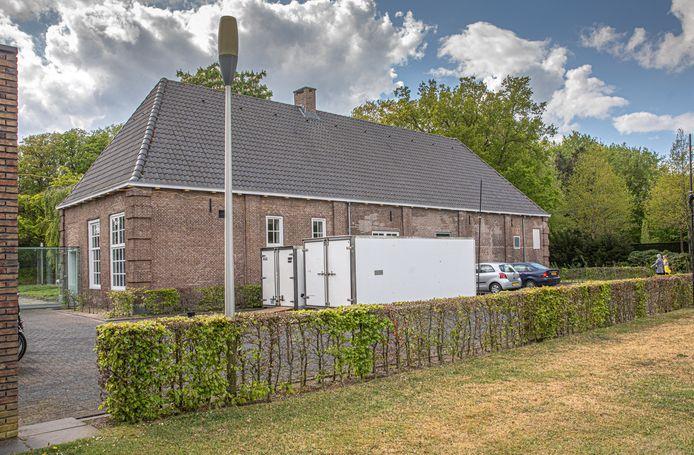 De aula van begraafplaats Kranenburg in Zwolle.