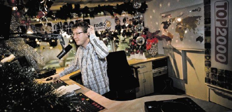 Bert Haandrikman presenteert de Top 2000. Vanavond eindigt deze muziekmarathon. (FOTO ANP ) Beeld ANP