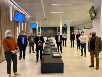 Sporthal Denderdal in Erembodegem wordt vaccinatiecentrum voor Eerstelijnszone Regio Aalst