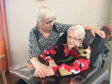Dina Oosterom, de oudste inwoner van Nieuwegein, is vandaag 105 geworden