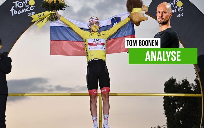 Tom Boonen over Tourwinnaar Pogacar.