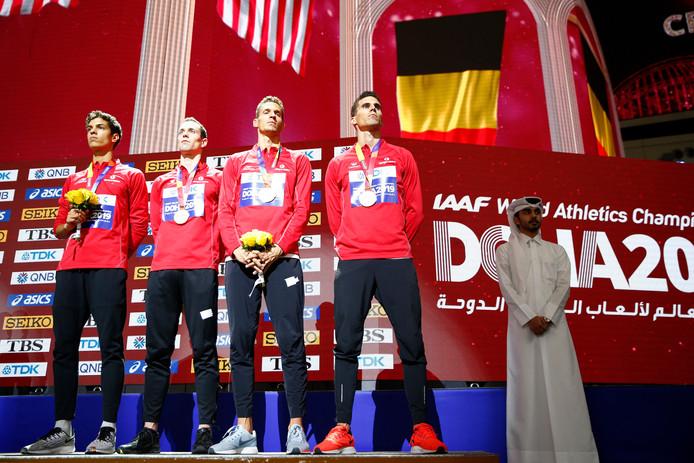 Du bronze pour les Tornados à Doha: une première médaille dans des championnats du Monde outdoor et un bilan historique pour la délégation belge avec deux médailles.