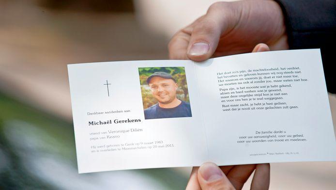 Een van de vermoorde Outlaws Michael Gerekens.