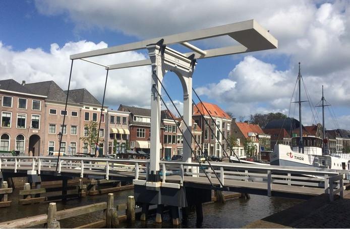 Het Pelserbrugje in Zwolle. Foto: Collectief van Zwolse Architecten